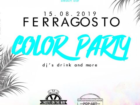 Feste ferragosto Color Party sul Lago di Garda
